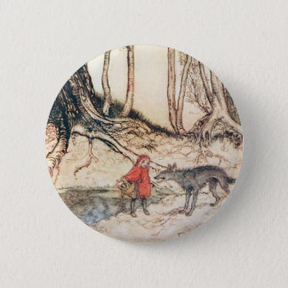 Red Riding Hood Button