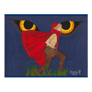 """""""Red Riding Hood"""" by Daedelys Postcard"""