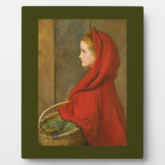 Red Riding Hood by Millais Photo Plaque