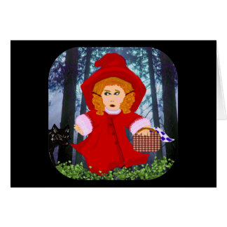 Red Riding Hood Card