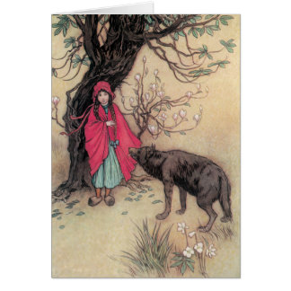 Red Riding Hood Greeting Cards