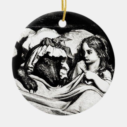 Red Riding Hood Christmas Ornament