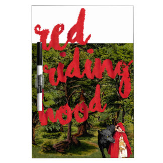 Red Riding Hood Dry Erase Board