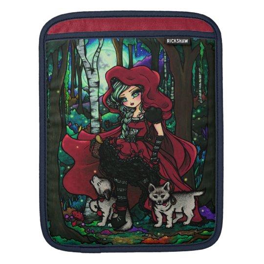 Red Riding Hood Fairytale iPad Sleeve Hannah Lynn