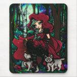 Red Riding Hood Fairytale Mousepad