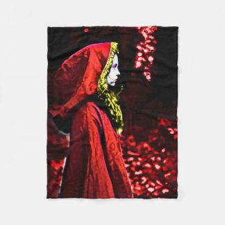 Red Riding Hood Fantasy Fleece Blanket