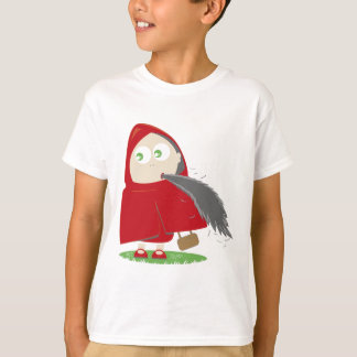 Red riding hood has appetite. T-Shirt