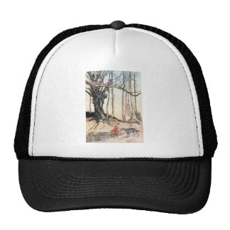 Red Riding Hood Trucker Hat