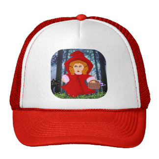 Red Riding Hood Mesh Hat