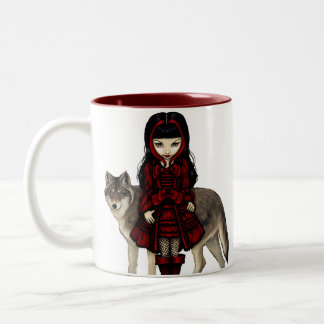 """Red Riding Hood in Autumn"" Mug"