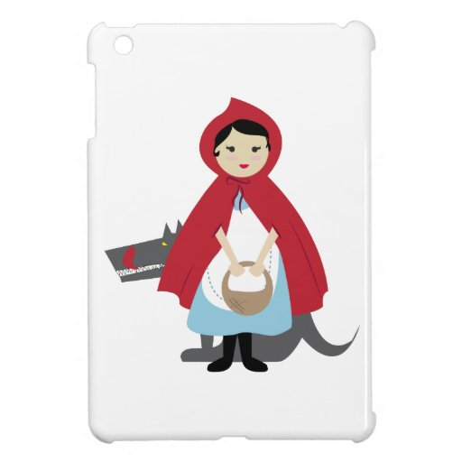 Red Riding Hood Case For The iPad Mini