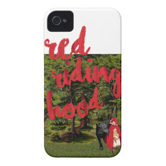 Red Riding Hood iPhone 4 Case