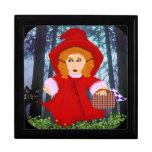 Red Riding Hood Jewelry Box