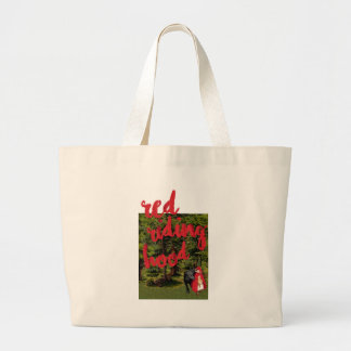 Red Riding Hood Jumbo Tote Bag