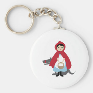 Red Riding Hood Key Chains