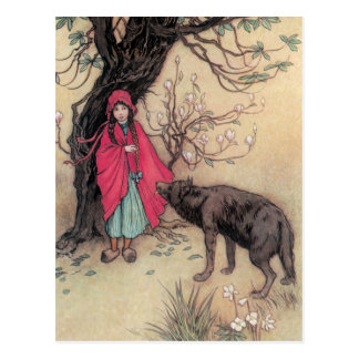 Red Riding Hood Postcards