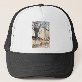 Red Riding Hood Trucker Hat
