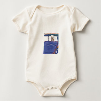 Red Riding Hood Wolf Baby Baby Bodysuit