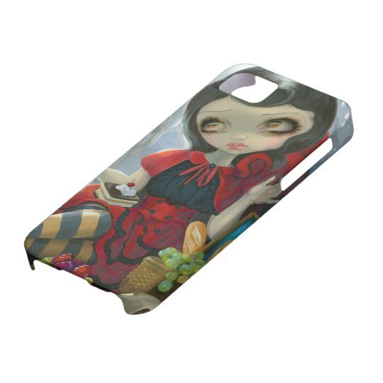"""""""Red Riding Hood's Picnic"""" iPhone 5 Case"""