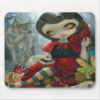 """Red Riding Hood's Picnic"" Mousepad"