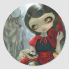 """""""Red Riding Hood's Picnic"""" Sticker"""