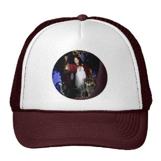 Red Riding in the Hood Trucker Hat