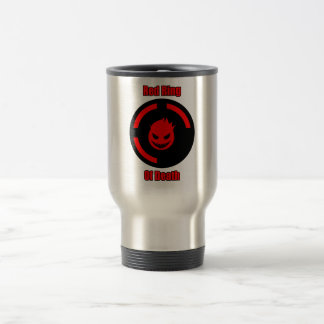 Red Ring of Death 15 Oz Stainless Steel Travel Mug