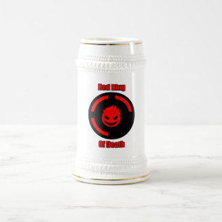 Red Ring of Death Beer Stein