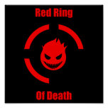 Red Ring of Death Print