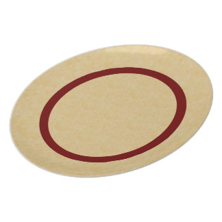 Red Ring Plate