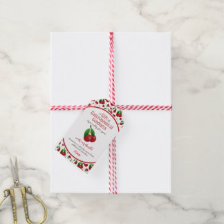 red ripe cherries gastronomical goodness gift tags