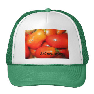 Red, Ripe, Tomatoes Trucker Hat