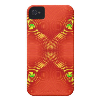 red ripple 3 iPhone 4 Case-Mate cases