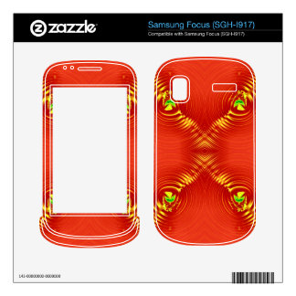 red ripple 3 samsung focus skins