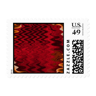 Red ripple stamps