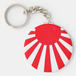 Red Rising Sun Key chain