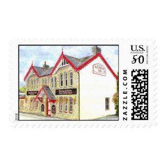 'Red River Inn' Postage