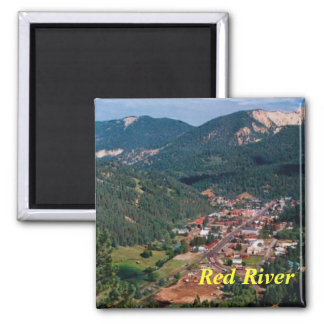 Red River New Mexico magnet