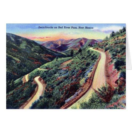 Red River New México Tarjeta De Felicitación