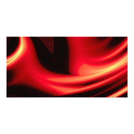Red Road - Modern Abstract Card
