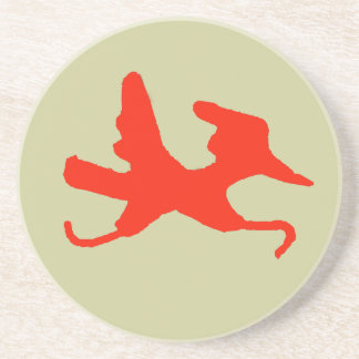 Red Road Runner Coasters