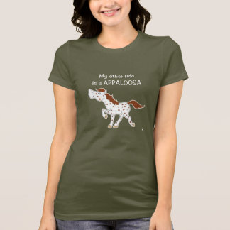 Red Roan Spotted Appaloosa T-Shirt