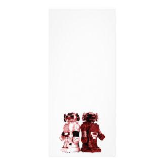 red robots rack card