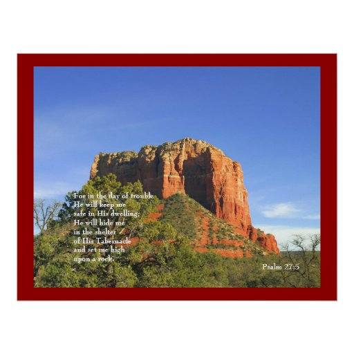 Red Rock and Psalms Print