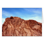 Red Rock At Hoover Dam Card