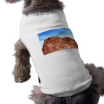 Red Rock At Hoover Dam Dog Shirt