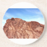 Red Rock At Hoover Dam Drink Coaster