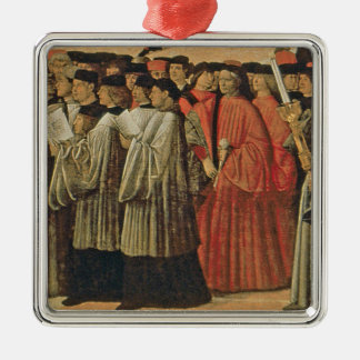 Red rock, c.1895 (oil on canvas) 2 christmas ornaments