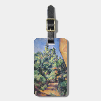 Red rock, c.1895 (oil on canvas) luggage tag