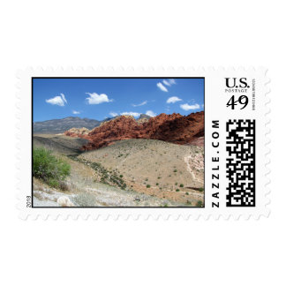 Red Rock Canyon 1 Postage Stamp